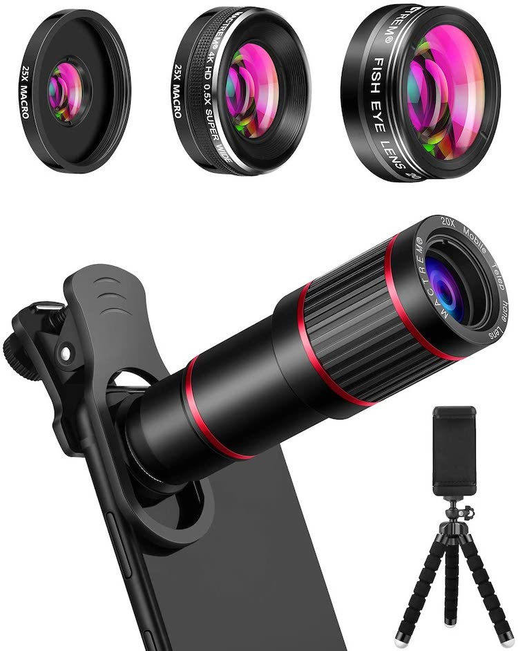 best iphone camera lenses 2020